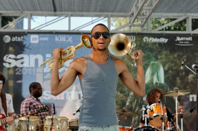 Trombone Shorty. Photo Credit: Bruce Fram