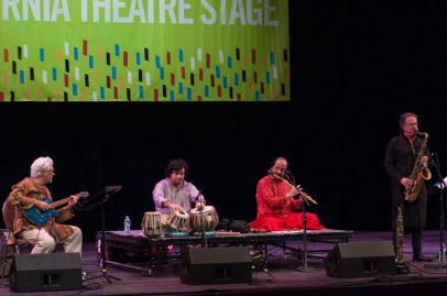 Bombay Jazz on California Theatre Stage. Photo credit: Grason Littles