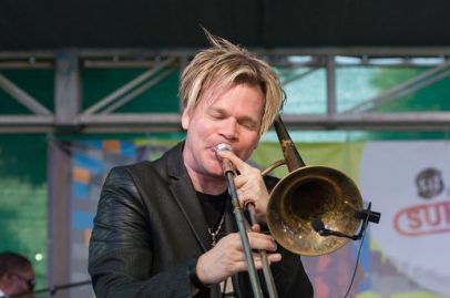 Brian Culbertson on Main Stage. Photo credit: Grason Littles