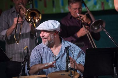 Conjunto Karabali on Salsa Stage. Photo credit: James Knox