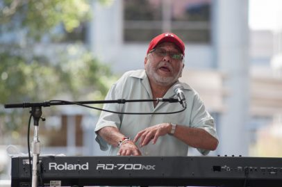 Eddie Palmieri Latin Jazz Band on Main Stage. Photo credit: Grason Littles