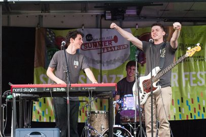 SJZ U19s on SJZ Boom Box Stage. Photo credit: Grason Littles