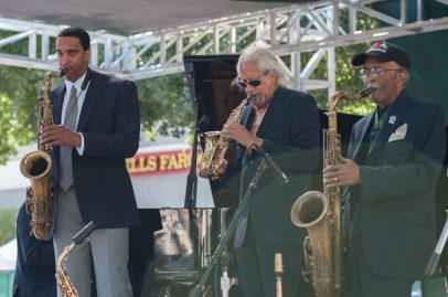 Sax Appeal on Main Stage. Photo credit: Grason Littles