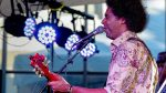 Selwyn Birchwood on Blues Stage. Photo credit: Bruce Fram