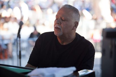 Joe Sample from the Jazz Crusaders is entranced by the music. Photo Credit: Robert Birnbach