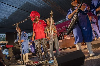 Bootsy Collins on Main Stage. Photo credit: Daniel Garcia