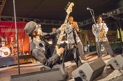 Con Funk Shun on Main Stage. Photo credit: Daniel Garcia