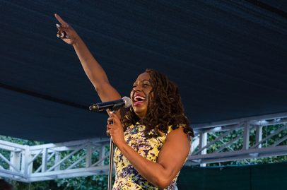 Ledisi on Main Stage. Photo credit Mark Mander