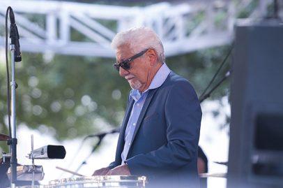 Pete Escovedo on Main Stage. Photo credit: Daniel Garcia