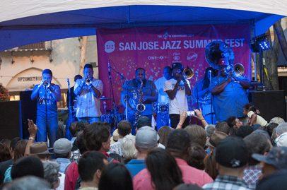 Soul Rebels on Main Stage. Photo credit: Daniel Garcia