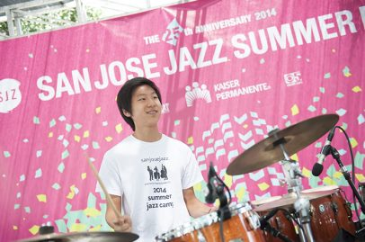 SJZ Summer Jazz Camp Combo on Main Stage. Photo credit: Daniel Garcia