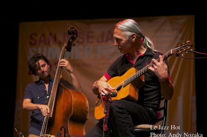 Sunday was swinging with gypsy jazz group Le Jazz Hot opening the festival on the San Jose Rep Stage. Photo Credit: Andy Nozaka