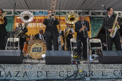 Preservation Hall Jazz Band kicked the Main Stage into high gear. Photo Credit: Ken Hunt