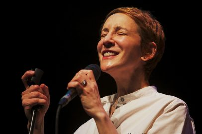 After the Cookers, Stacey Kent kept the afternoon breezy and bright as her voice filled the San Jose Rep stage. Photo Credit: Andy Nozaka