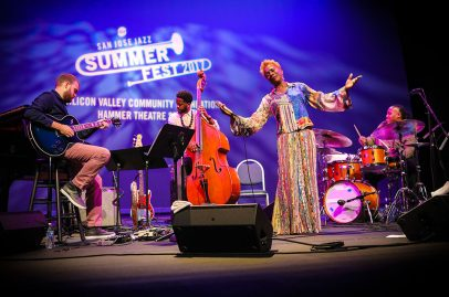 Carmen Lundy brought plenty of vocal fury when she led an ensemble of jazz's rising stars on the Silicon Valley Community Foundation Hammer Theatre Stage.
