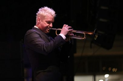 Chris Botti's headline performance was both full of energy as well as relaxing and sweet. Photo Credit: Robert Birnbach