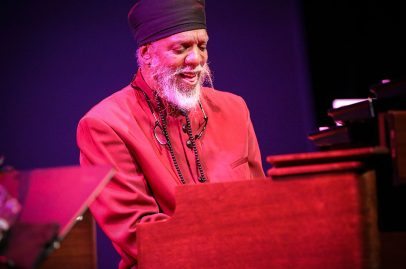 NEA Jazz Master Dr. Lonnie Smith played before a packed house at the Silicon Valley Community Foundation Hammer Theatre Stage. Photo Credit: Robert Birnbach